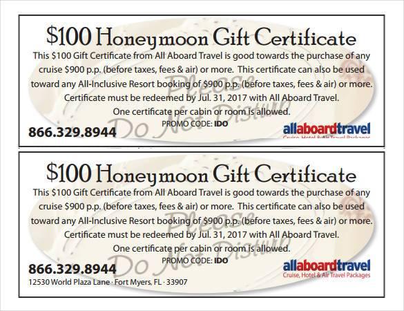 gift certificate example - Romeolandinez - gift certificate samples