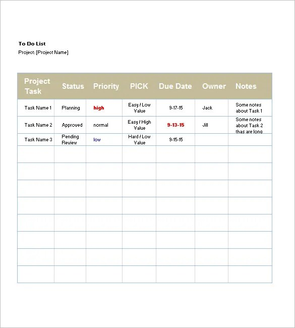 List Templates - 105+ Free Word, Excel, PDF, PSD, Indesign Format