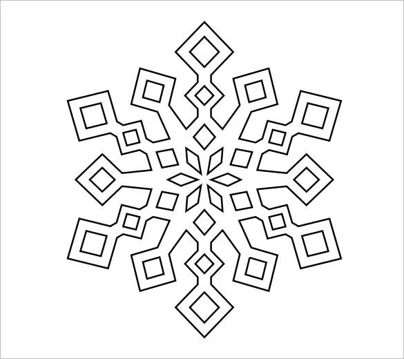 snowflakes templates - Selomdigitalsite