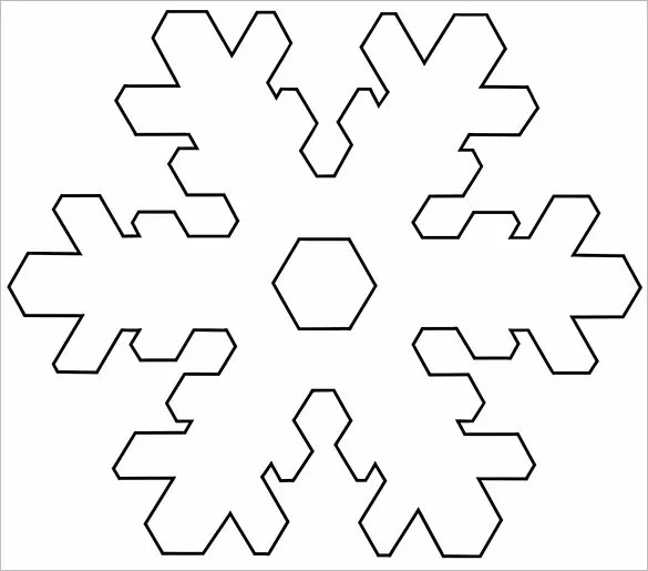 Snowflake Templates \u2013 49+ Free Word, PDF, JPEG, PNG Format Download
