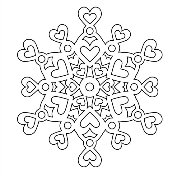 Snowflake Templates \u2013 49+ Free Word, PDF, JPEG, PNG Format Download - snowflake template