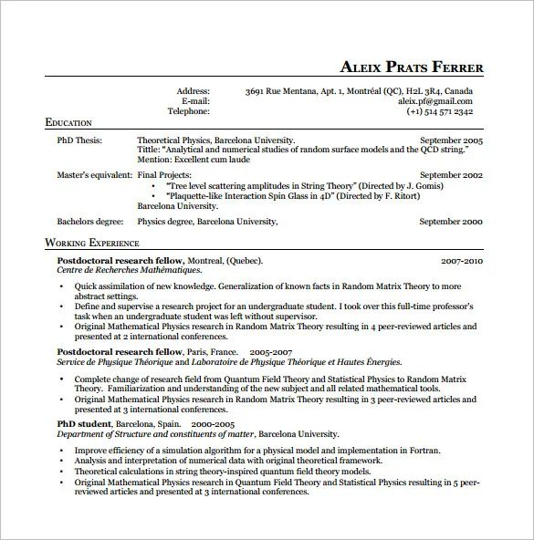 latex resume templates free download