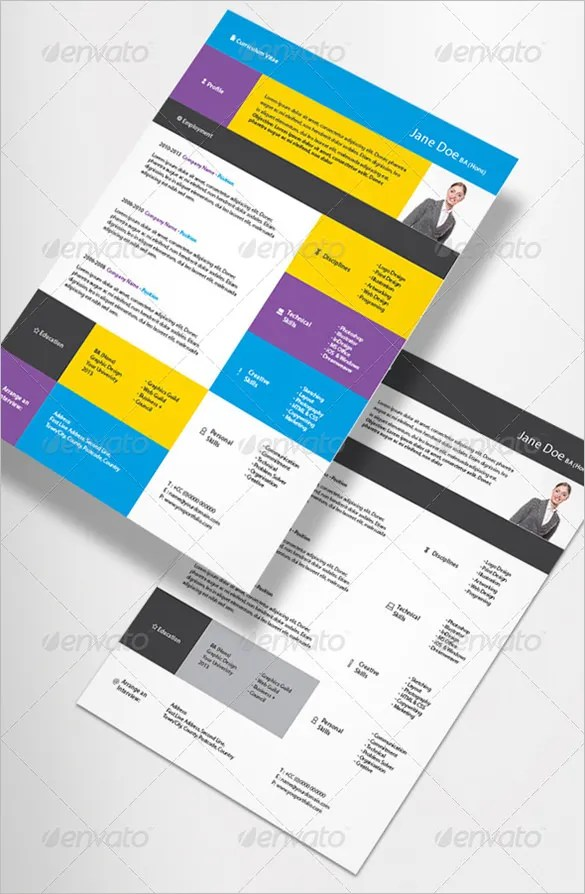 Contemporary Resume Template \u2013 4+ Free Word, Excel, PDF Format
