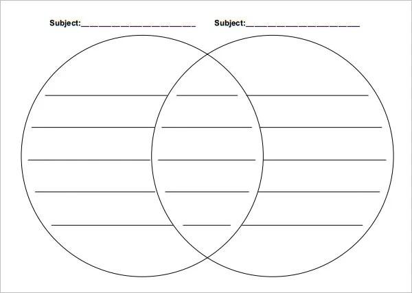 36+ Venn Diagram Templates - PDF, DOC, XlS, PPT Free  Premium