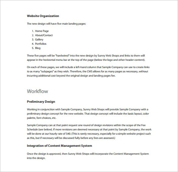 Simple Proposal Template Simple Proposals Sample The Business - informal proposal template