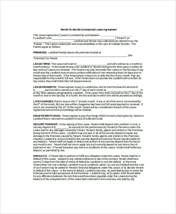 Doc# Sample Commercial Security Agreement Template u2013 Commercial - sample security agreement