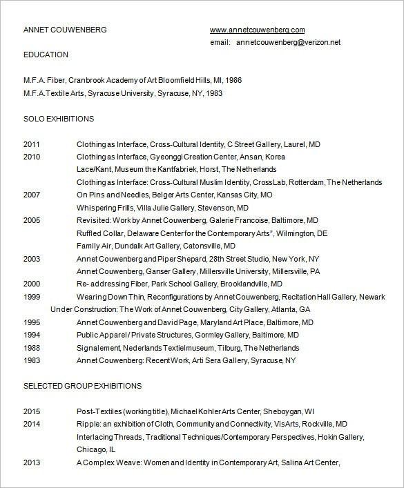 ... Designer Resume Template U2013 9+ Free Word, Excel, PDF Format   Fashion  Designer ...