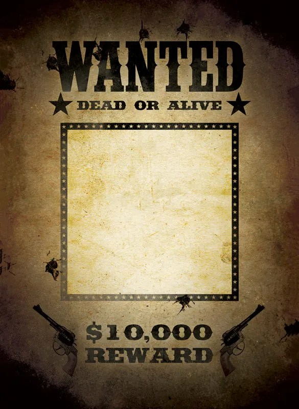 Wanted Poster Template - 34+ Free Printable Word, PSD, Illustration