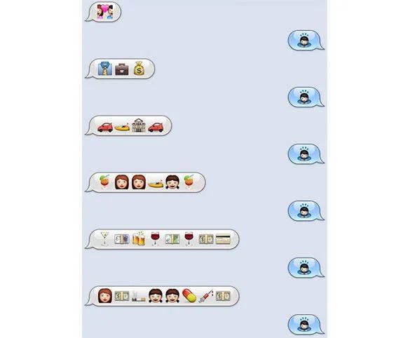 emoji love texts