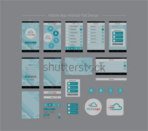android app layout templates