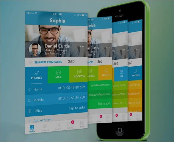 40+ Awesome Mobile App Designs With Great UI Experience Free