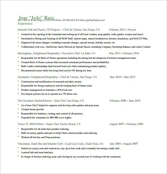 japanese resume template free download