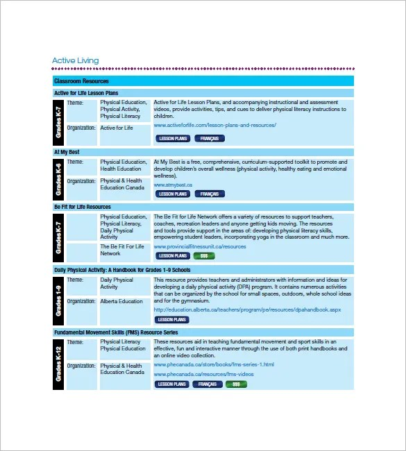 Class List Template -8+ Free Sample, Example, Format Download