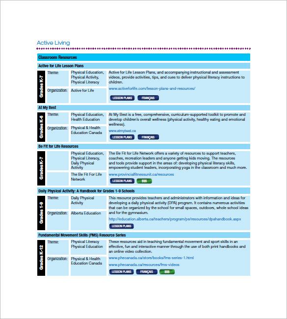Class List Template -10 + Free Sample, Example, Format Download - class list template