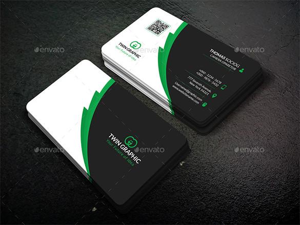 39+ Unique Business Card Designs Free  Premium Templates - buisness card design