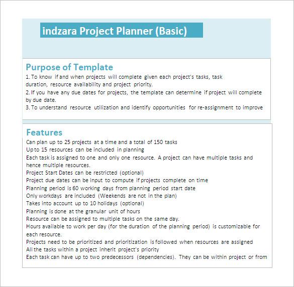 23+ Project Plan Template - DOC, Excel, PDF Free  Premium Templates