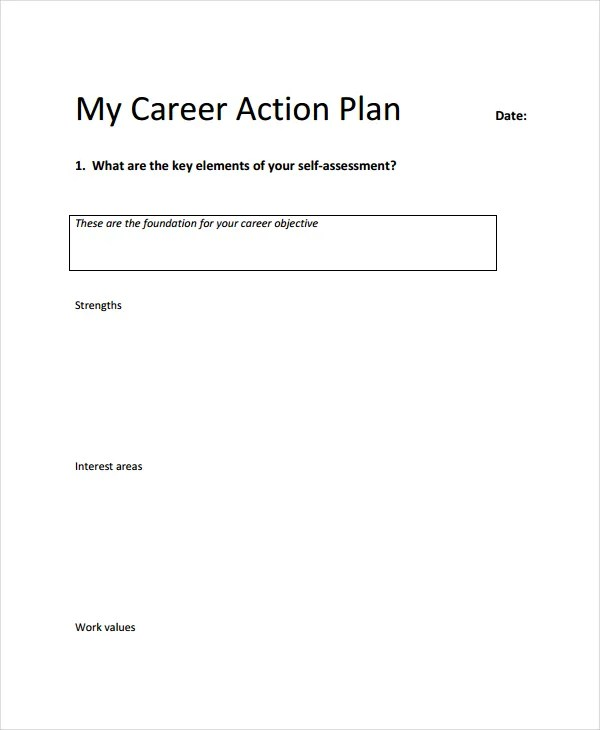 Action Plan Steps Template Nfgaccountability – Sample Career Action Plan