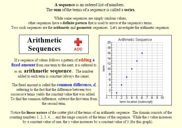 Arithmetic Sequence Examples \u2013 10+ Free Word, Excel, PDF Format