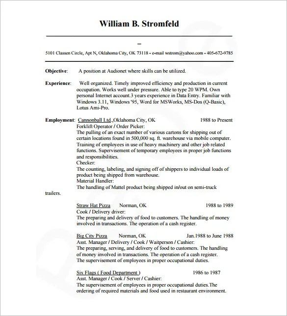 sample database administrator resume clever - Database Administrator Resume Examples