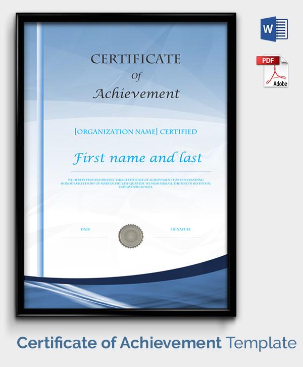 Certificate Template - 49+ Free Printable Word, Excel, PDF, PSD - free printable editable certificates