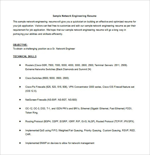 Resume Objective Statement Civil Engineer | Create Professional