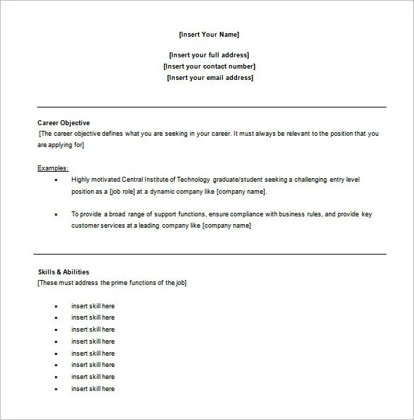 Customer Service Resume Template \u2013 11+ Free Word, Excel, PDF Format - examples of resumes for customer service