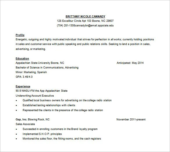 Customer Service Resume Template \u2013 11+ Free Word, Excel, PDF Format - customer service resume template free