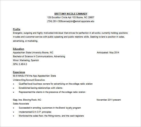 free customer service resume template word