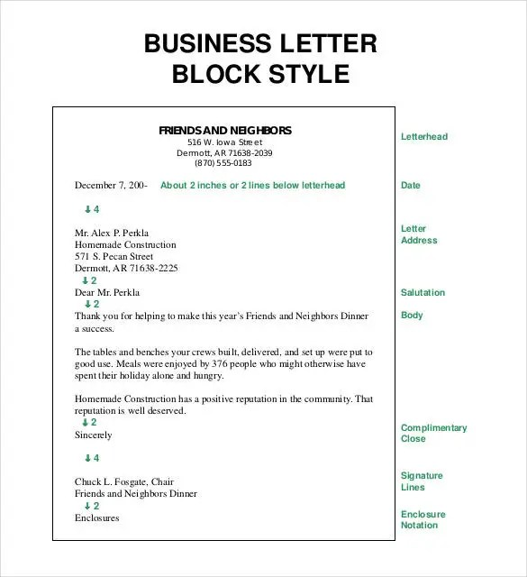28+ Business Letter Templates - PDF, DOC, PSD, InDesign Free