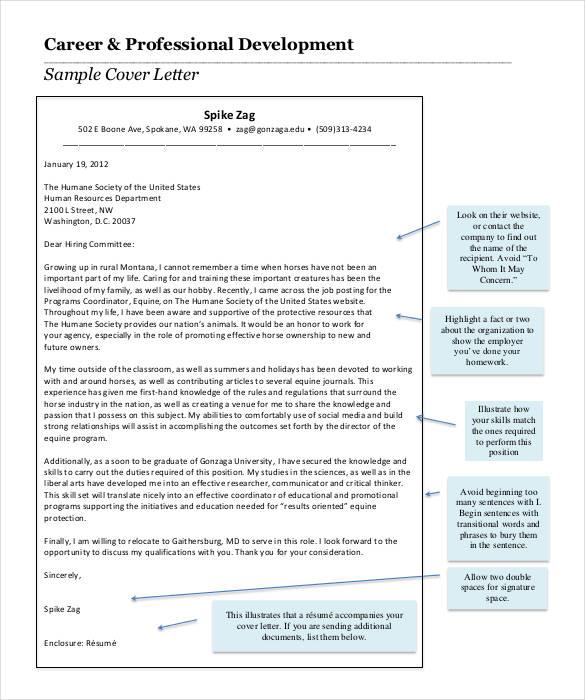 cover letter for a front end developer key online content - cover letter content