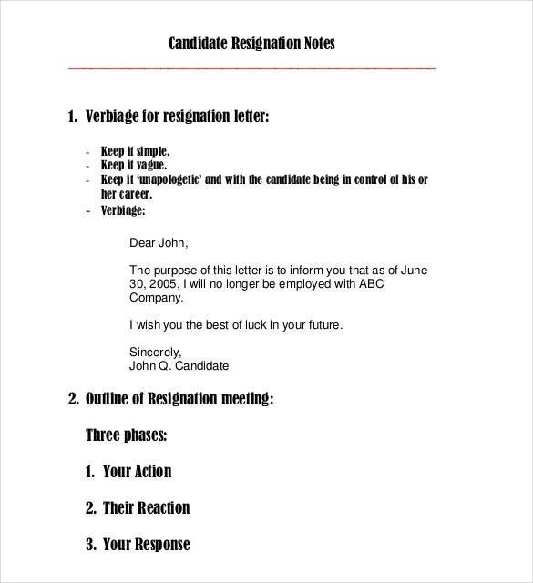 23+ Email Resignation Letter Templates - PDF, DOC Free  Premium - resignation letter email