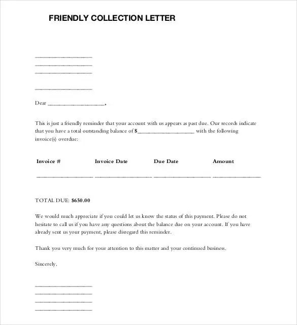 Friendly Letter Templates - 44+ Free Sample, Example Format Free - friendly letter format template