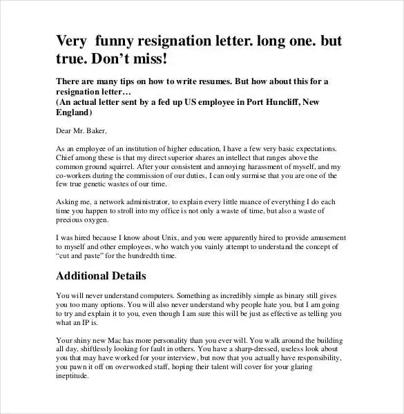 Email Resignation Letter Template - 19+ Free Sample, Example - quick tips writing resignation letters