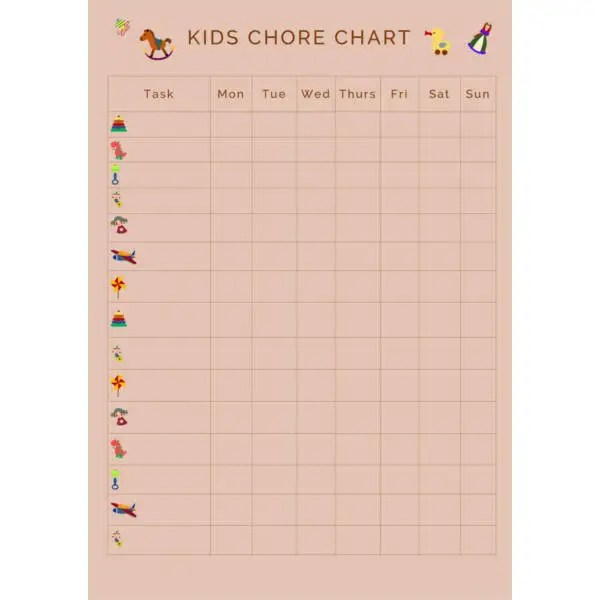 Chart Template - 61+ Free Printable Word, Excel, PDF, PPT, Google