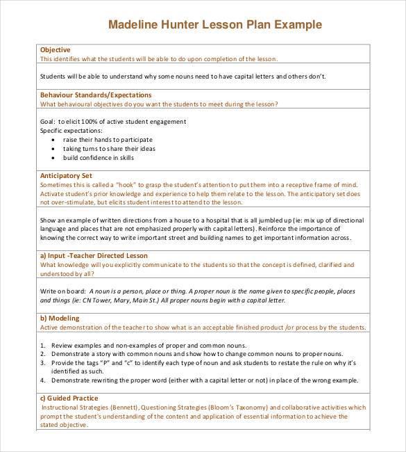 50+ Lesson Plan Templates - PDF, DOC, Excel Free  Premium Templates