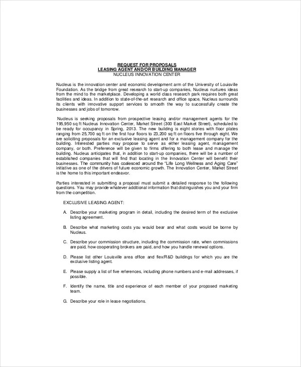 lease proposal letter sample xv-gimnazija