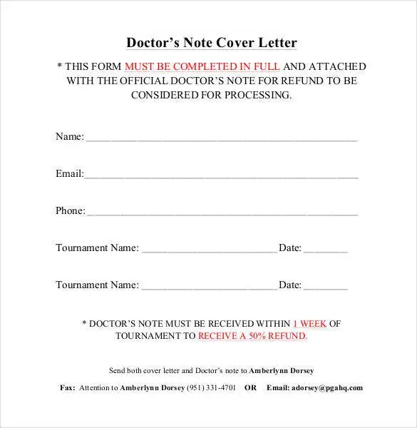54+ Free Cover Letter Templates - PDF, DOC Free  Premium Templates - cover note