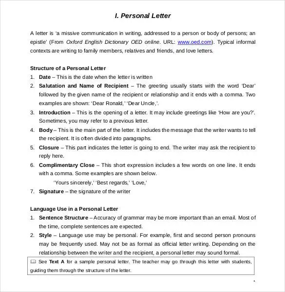 ... Personal Letter Template   40+ Free Sample, Example Format Free   Empathy  Letter Sample ...  Empathy Letter Sample