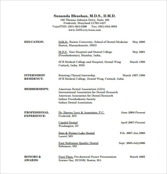 sample resume for doctor - Goalgoodwinmetals - sample resume for doctor