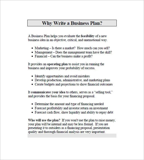 Business Marketing Plan Template \u2013 12+ Free Word, Excel, PDF Format