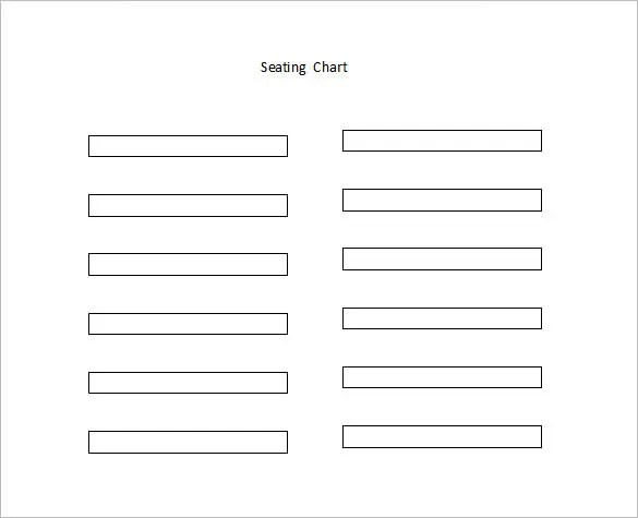Seating Chart Template quantweb - Classroom Seating Chart Templates