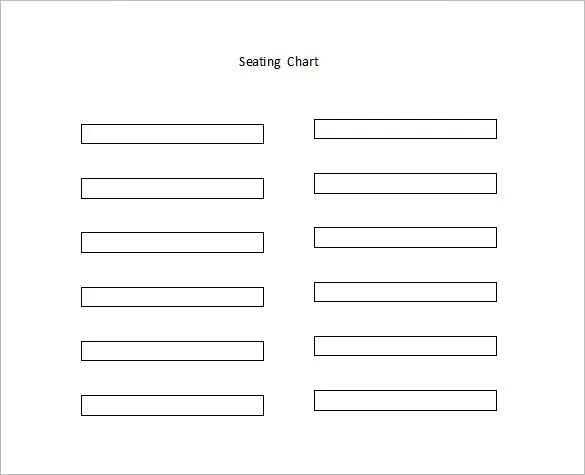 classroom seating plan template free