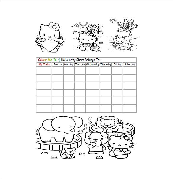 12+ Reward Chart Templates - DOC, PDF, Excel Free  Premium Templates