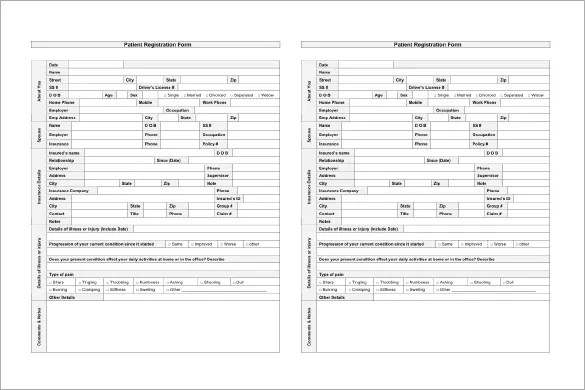 Patient Chart Template \u2013 10+ Free Sample, Example, Format Download - Patient File Template