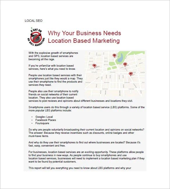 SEO Marketing Plan Template -15+ Free Word, Excel, PDF Format - seo plan template