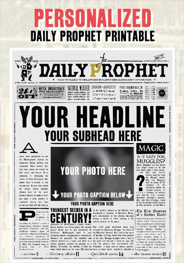 Newspaper Template - 16+ Free Word, PDF Documents Download Free - newspaper headline template