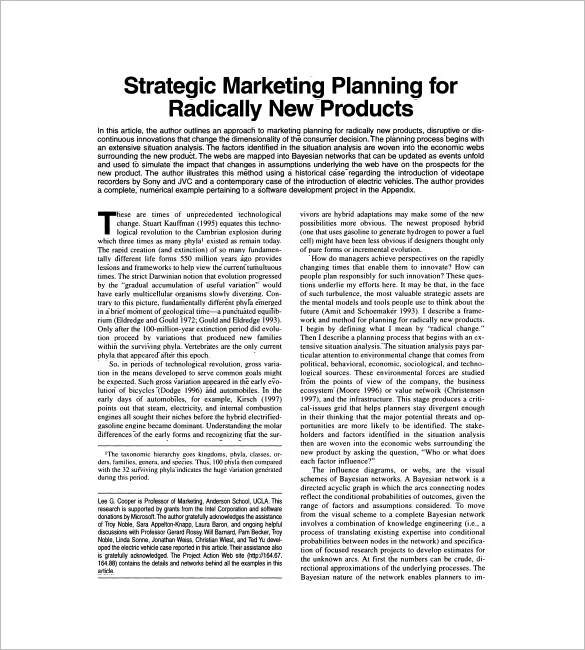 Sales and Marketing Plan Template u2013 10+ Free Sample, Example - how to write a sales plan template