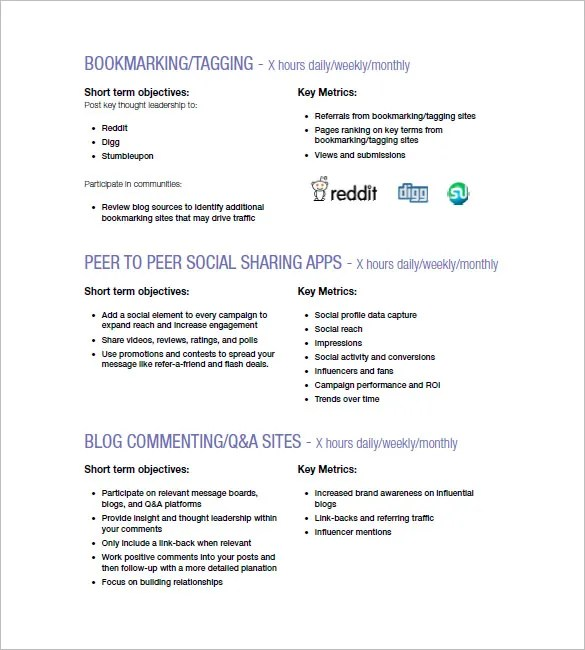 Marketing Campaign Plan Template - 11+ Free Sample, Example, Format