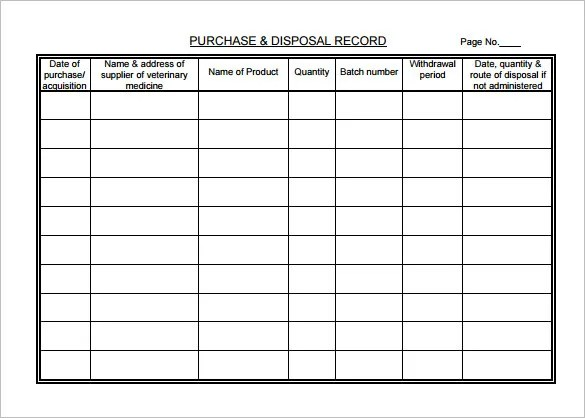 Medical Chart Template \u2013 10+ Free Sample, Example, Format Download