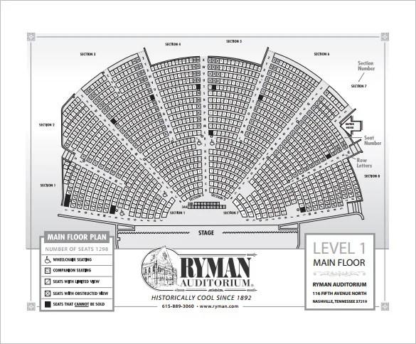 ryman seating chart - Sendilcharlasmotivacionales